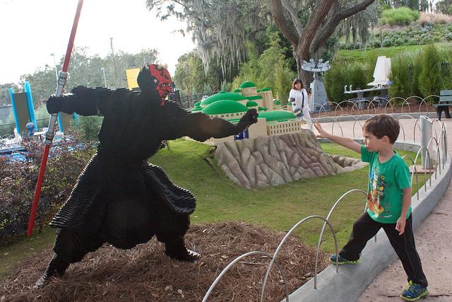 LEGOland Florida Darth Maul