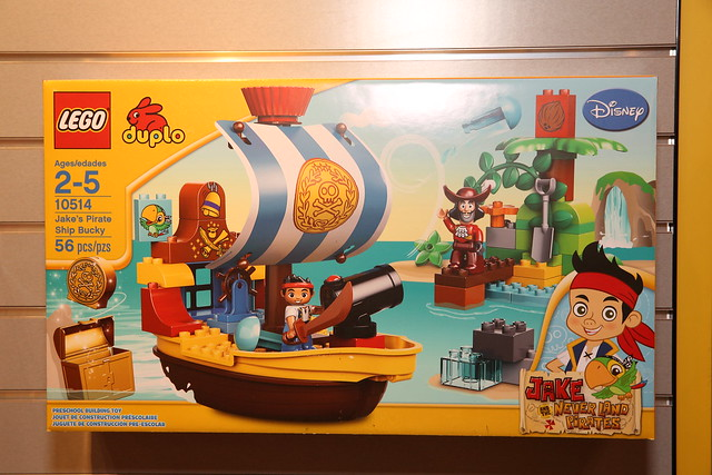 10514 Jake's Pirate Ship Bucky