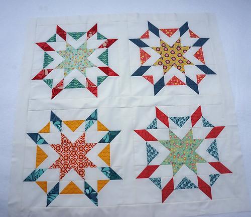 Starburst-quilt-top