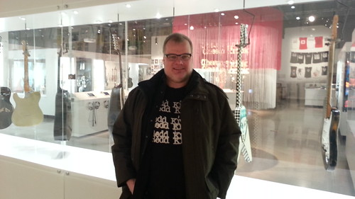Me @ Rick's Picks (Rick Nielsen/Cheap Trick exhibit)
