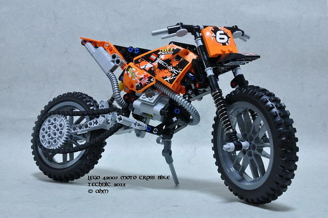 lego technic 42007 moto cross bike flickr photo sharing. Black Bedroom Furniture Sets. Home Design Ideas