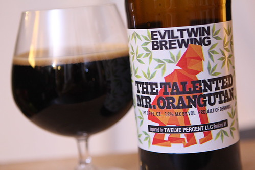 Evil Twin Brewing The Talented Mr. Orangutan