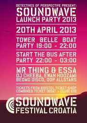 SOUNDWAVE BRISTOL LAUNCH FLYER