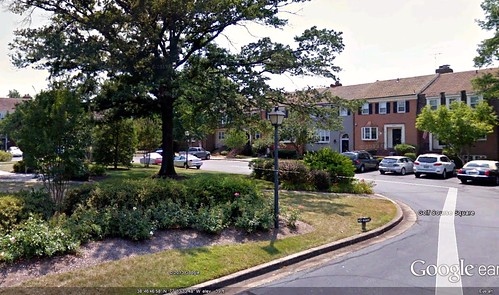 Olde Belhaven, Alexandria, VA (via Google Earth)