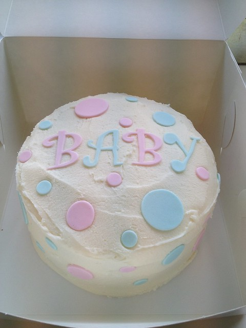 Unisex Baby Shower Cake Images : Unisex baby shower cake Flickr - Photo Sharing!