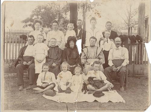 McMillian clan circa 1864