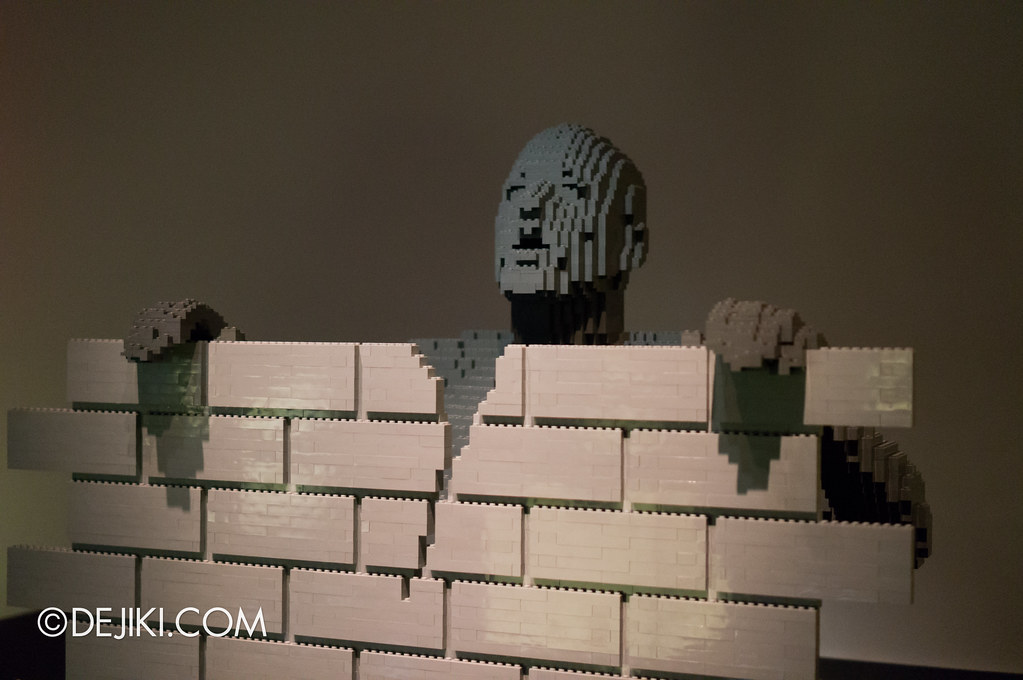 Art of The Brick - The Wall