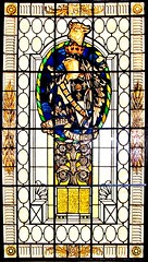Stained Glass Window that graced the Factory of Heaton Family