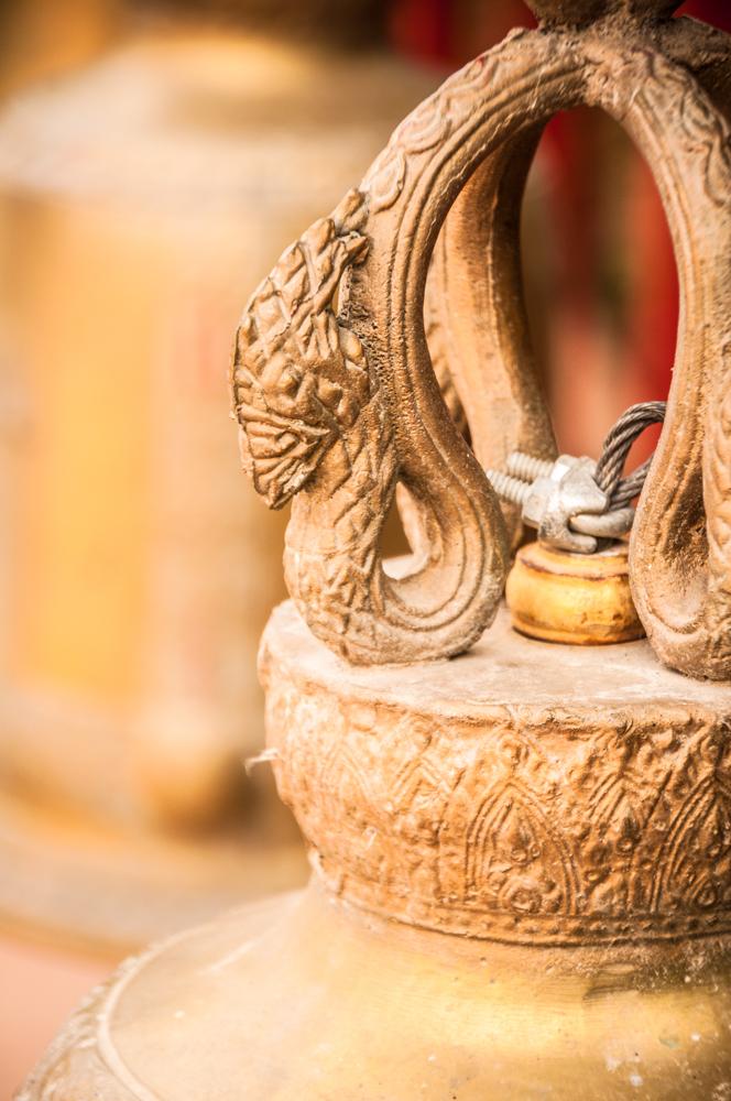 Bell Ornament...Wat Phan Tao, Chiang Mai, Thailand