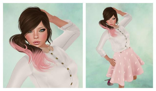 Girlie Girl Collage