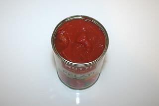 12 - Zutat geschälte Tomaten / Ingredient peeled tomatoes