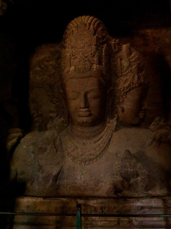 The Trimurti at Elephanta