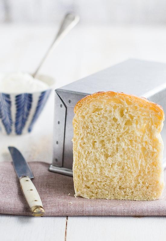 Receta de pan de molde con queso