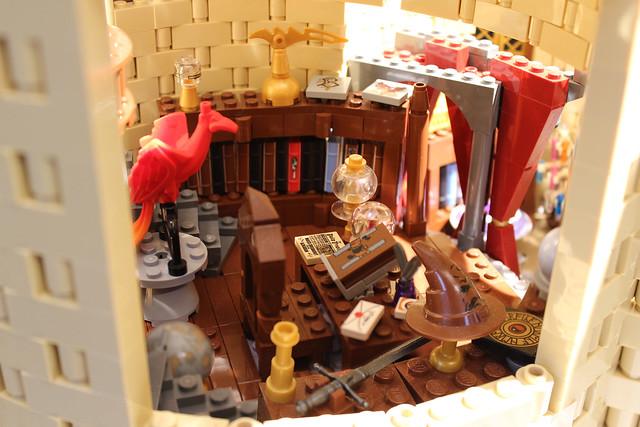 Dumbledore's desk