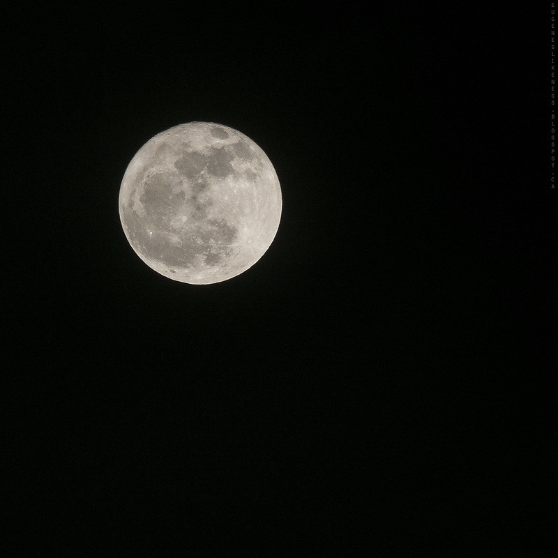 Full moon on 2013/02/25