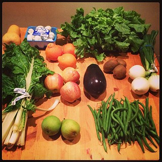 Farm to families box this week