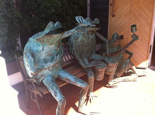 Seaport Village frogs
