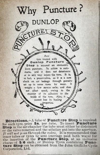 Dunlop Puncture Stop