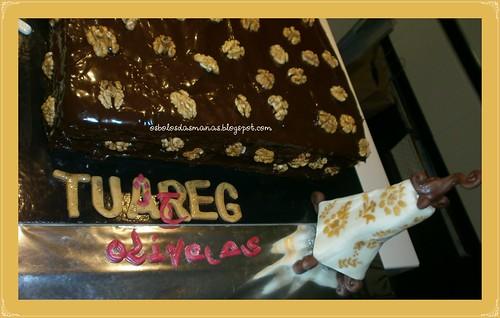 Detalhe Bolo 4º aniversário Tuareg Odivelas by Osbolosdasmanas