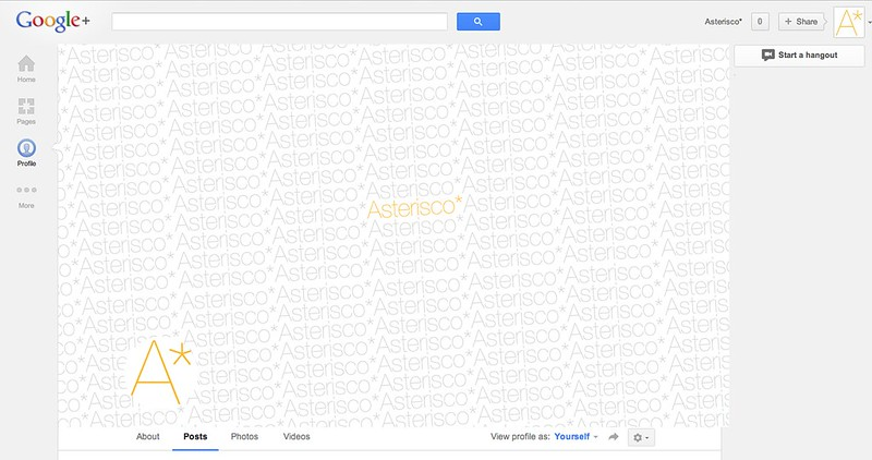 New Google+ Profile Picture