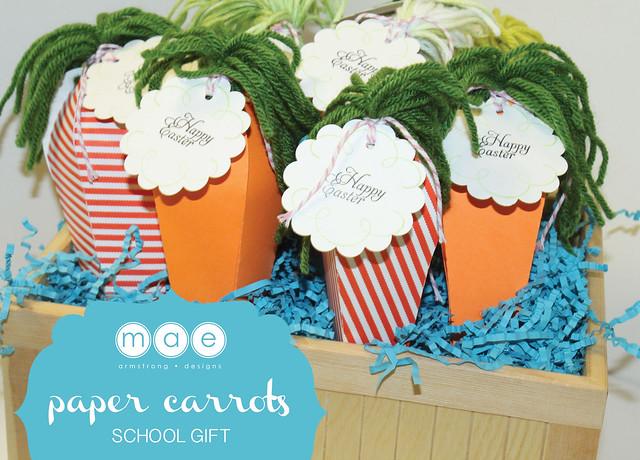 Paper Carrots - School Gift13