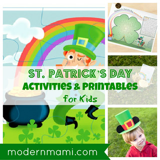 Free St. Patrick's Day Printables and Activities for Kids
