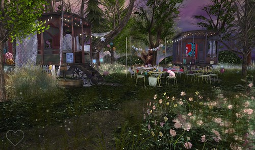 Home Sweet Home ~ Twilight Garden ~ Caravan 1