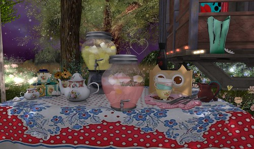 Home Sweet Home ~ Twilight Garden ~ Party Drinks