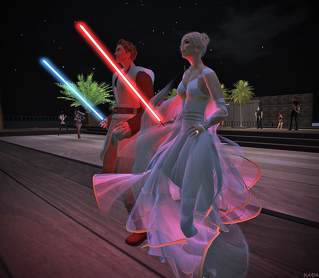 Lightsaber Dance