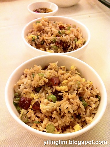 Fried Rice with Waxed Meat & Anchovies