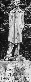 Dachau Concentration Camp statue