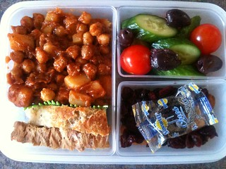 Sneaking vegan food into my meatatarian husband - vegan bento
