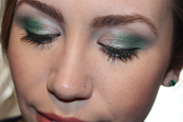 Living After Midnite: mark. Makeup Monday: Emerald City