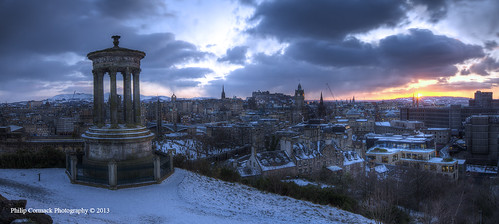 "city winter sunset snow cold castle monument sunrise scott scotland edinburgh moody britain united capital great scottish kingdom stewart atmospheric dugald flickraward flickraward5"" flickrawardgallery"