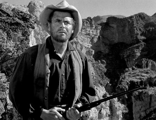 Glenn Ford,  in ''Lust for Gold'' 1949