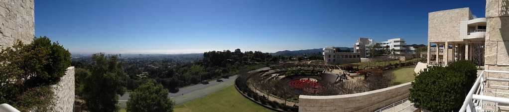 A perfect day at the Getty