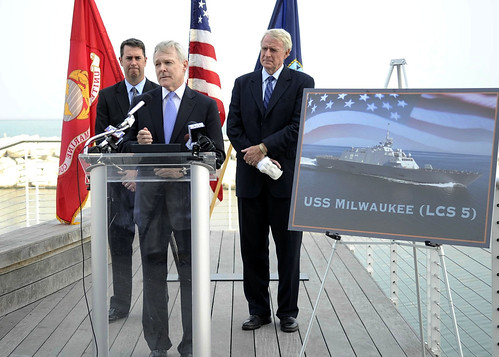 SECNAV Announces The Fifth Littoral Combat Ship USS Milwaukee (LCS 5)