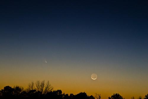 Observer la comète PanSTARRS