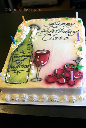 Cake from Oakmont Bakery