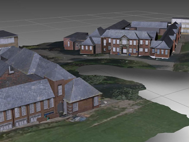 3D CAd model of Holly Lodge site