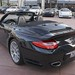 2012 Porsche 911 Turbo S Cabriolet Basalt Black 997 in Beverly Hills @porscheconnection 1046