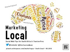 Leave a positive footprint: Marketing South Africa Travel @ThisTourismWeek @ronmader #marketingsa