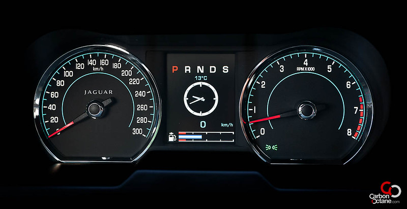 2013 Jaguar XFR dashboard.jpg