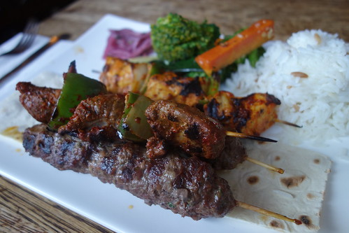 Summertime Grilled Lamb Sosaties Kebobs photo by kennejima