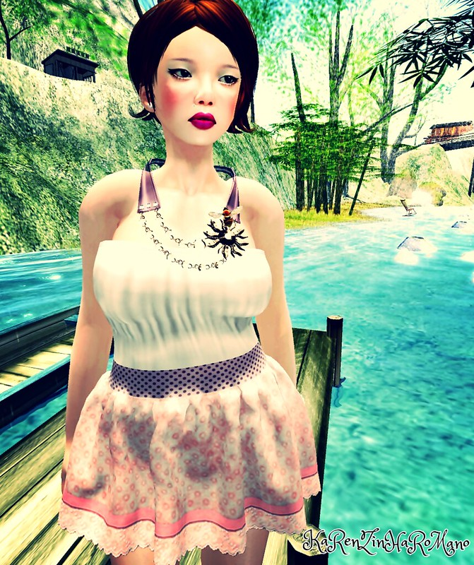 BB - Bumble Spring Dress (mesh)2
