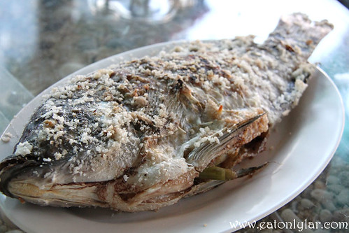 Grilled Fish with Salt, Lao Intre