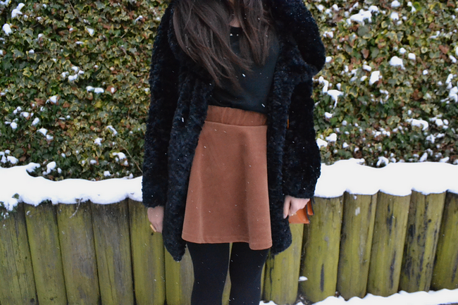 daisybutter - UK Style and Fashion Blog: what i wore, ootd, fashion blogger, british fashion, boohoo, yeswalker, yesstyle, faux fur coat