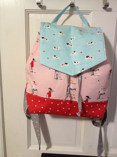Daisy Girl Backpack