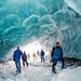 Ice cave at Matanuska Glacier