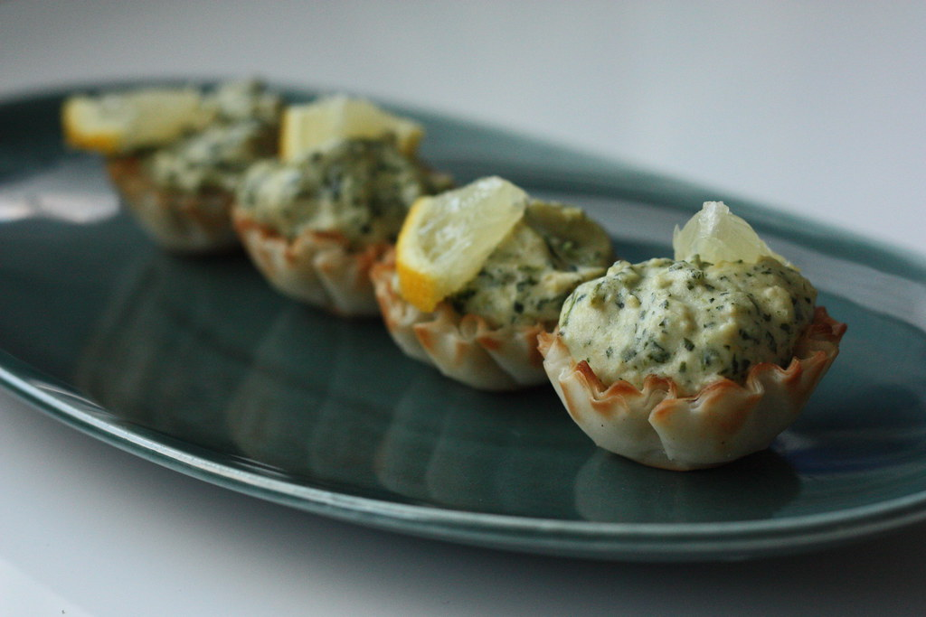 spinach artichoke bites by rootedvegan.com